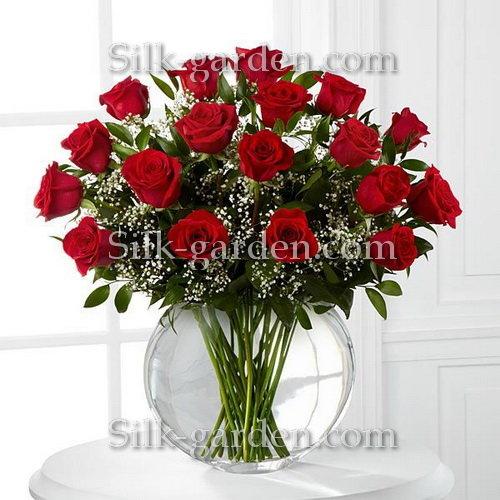 Принт Букет роз-4